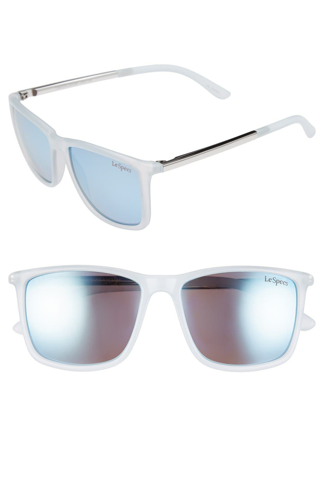 Main Image - Le Specs 56mm Retro Sunglasses