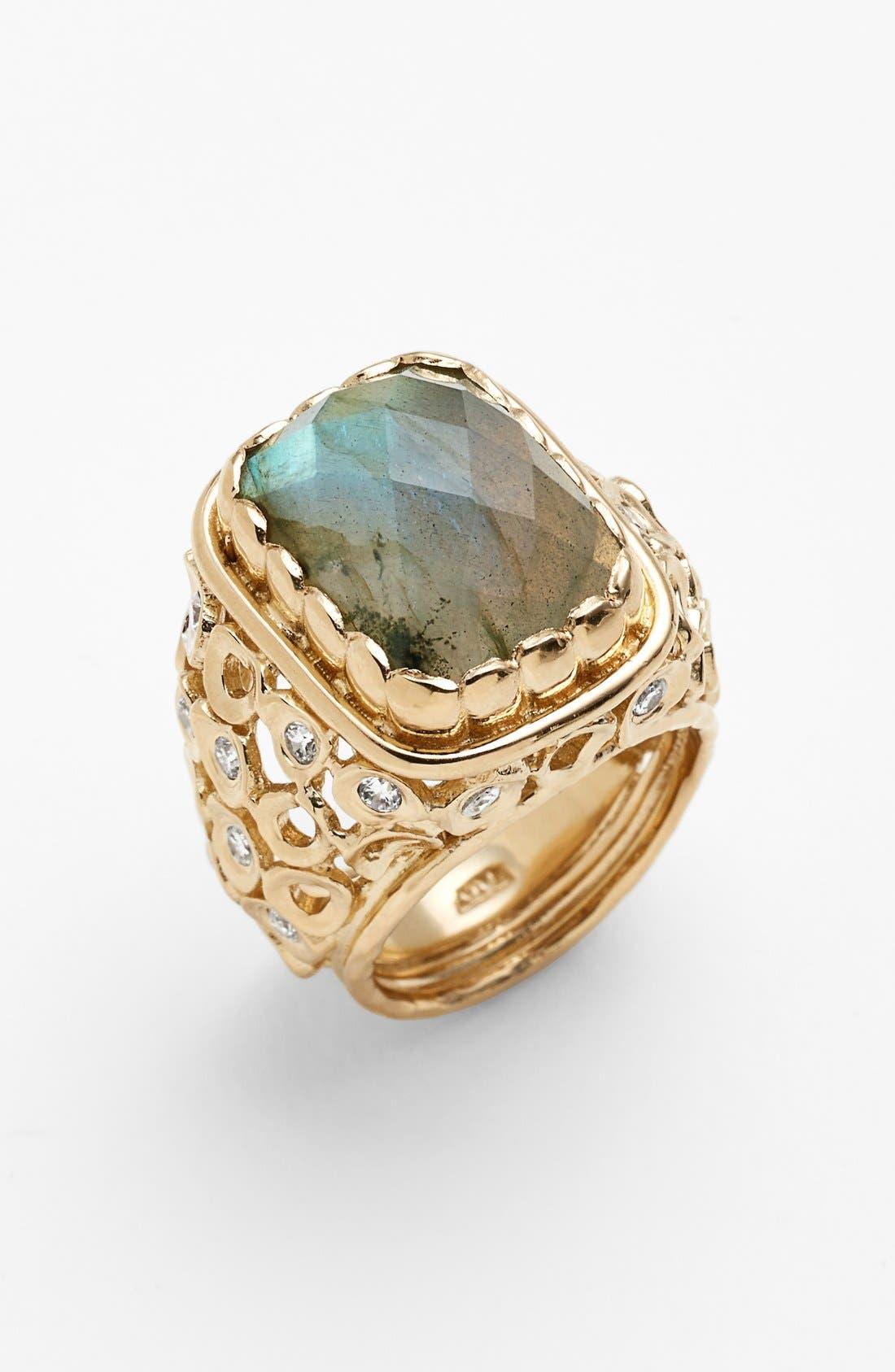 Alternate Image 1 Selected - Melinda Maria 'Mosaic - Wally' Stone Ring
