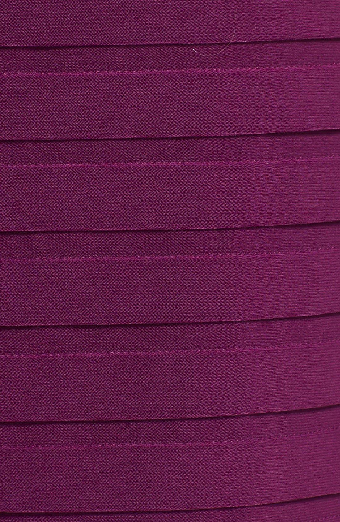 Alternate Image 4  - Adrianna Papell Pleated Jersey Blouson Dress