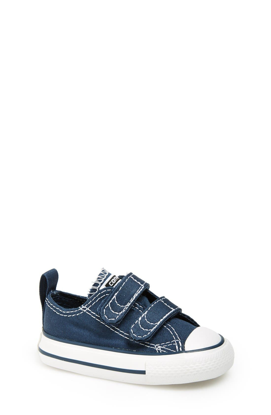 Main Image - Converse Chuck Taylor® 'Double Strap' Sneaker (Baby, Walker & Toddler)