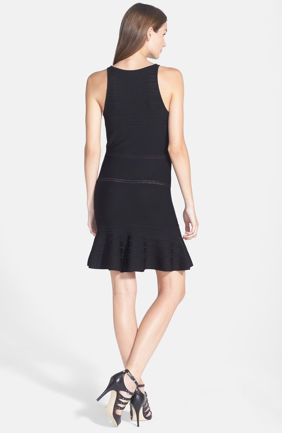 Alternate Image 2  - 1.STATE Stripe Body-Con Dress