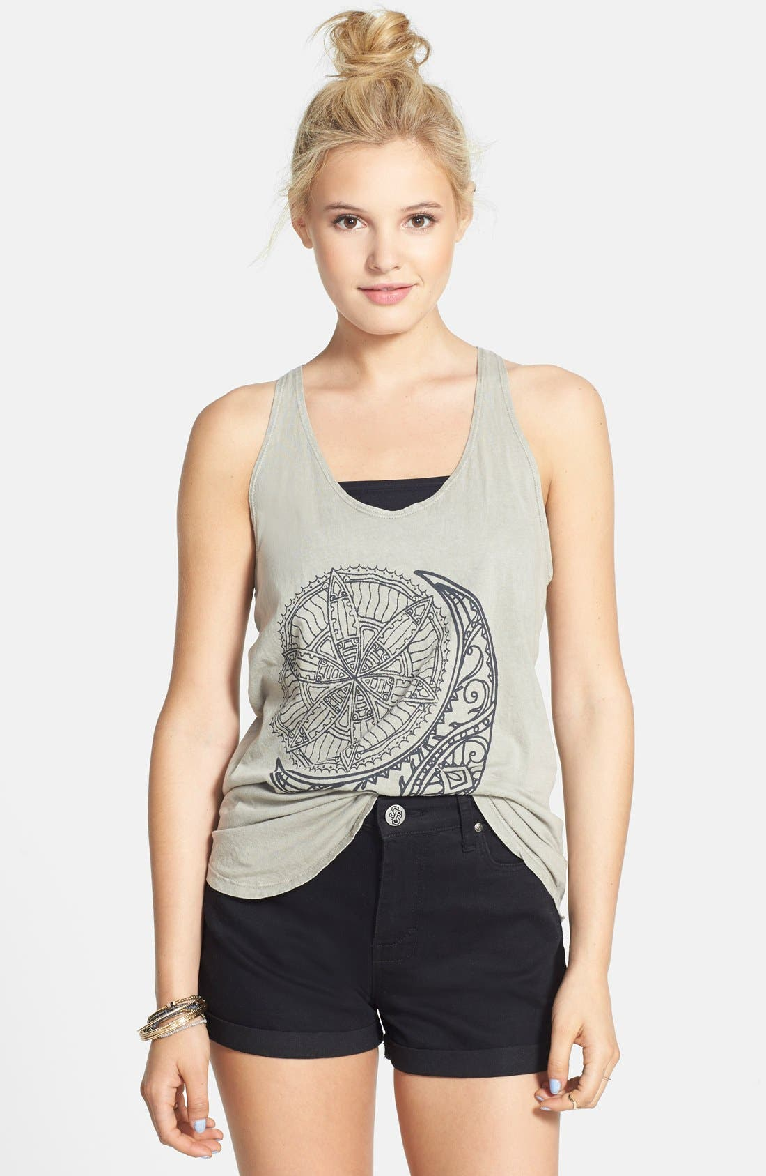 Alternate Image 1 Selected - Project Social T Celestial Graphic Tank (Juniors)