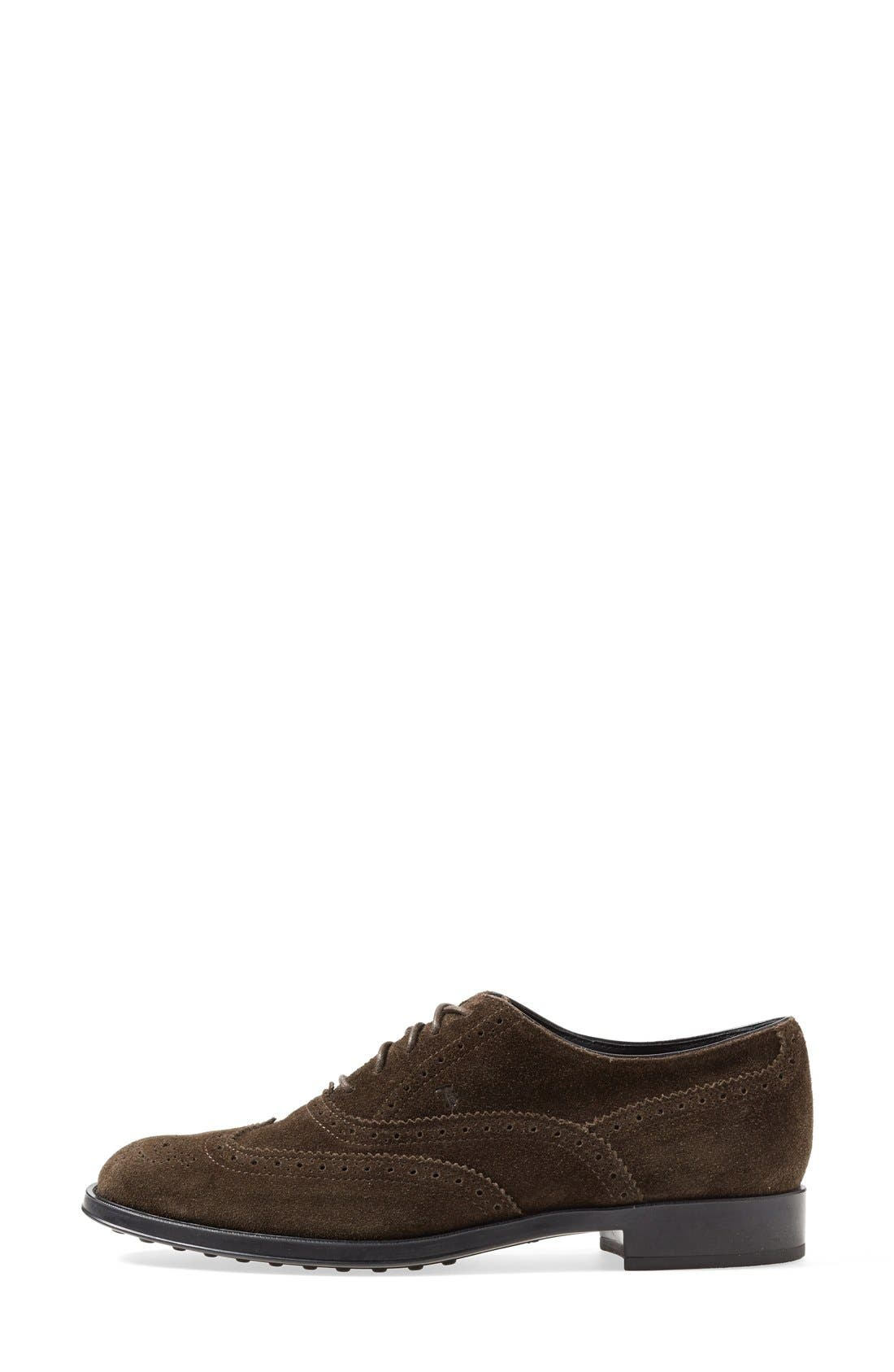 Alternate Image 4  - Tod's Brogue Oxford (Women)