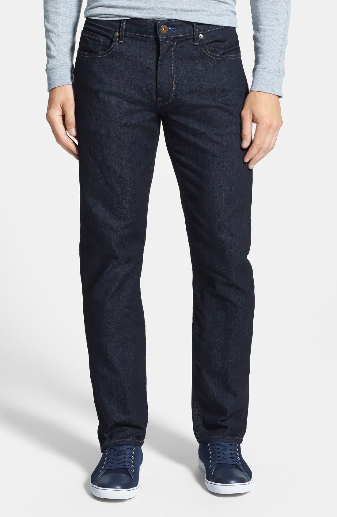 PAIGE 'Normandie' Straight Leg Jeans (Backstage)