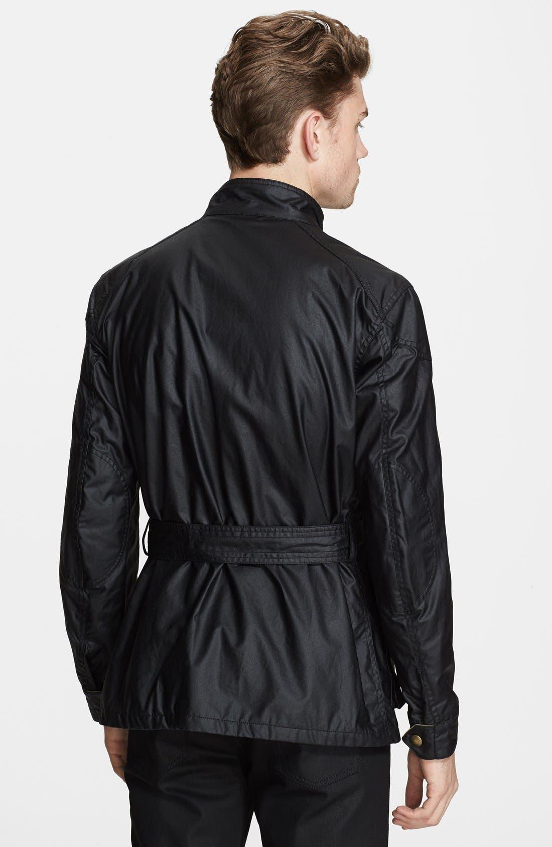 Alternate Image 2  - Belstaff 'Roadmaster' Wax Coated Moto Jacket