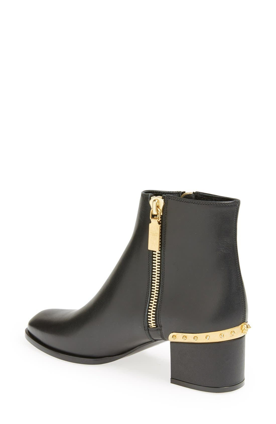 Alternate Image 2  - Alexander McQueen Spike Short Boot (Women)