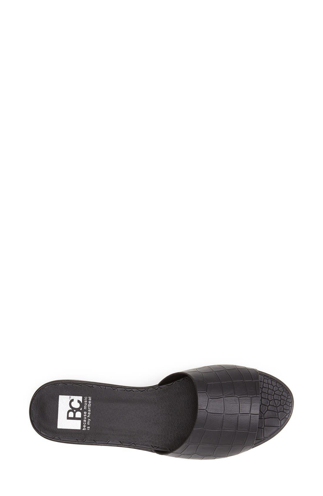 Alternate Image 3  - BC Footwear 'Inspiration' Slide Sandal (Women)