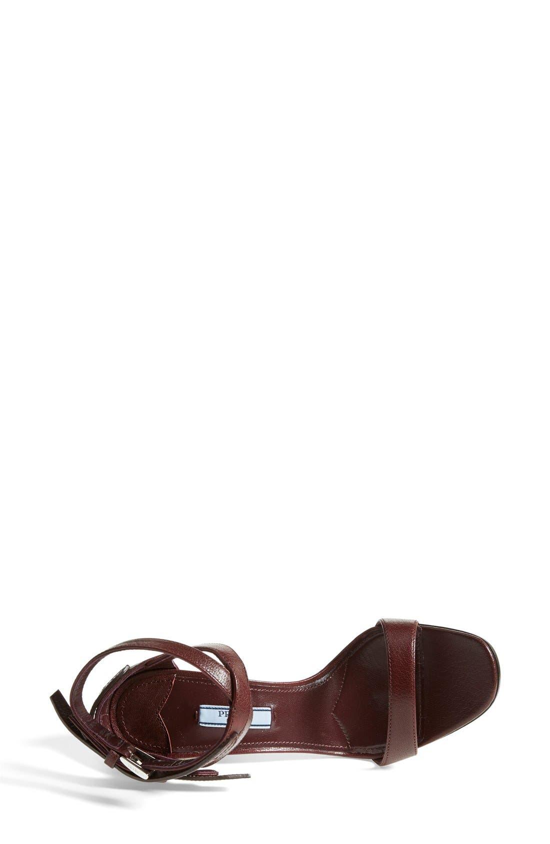 Alternate Image 3  - Prada Double Ankle Strap Sandal (Women)
