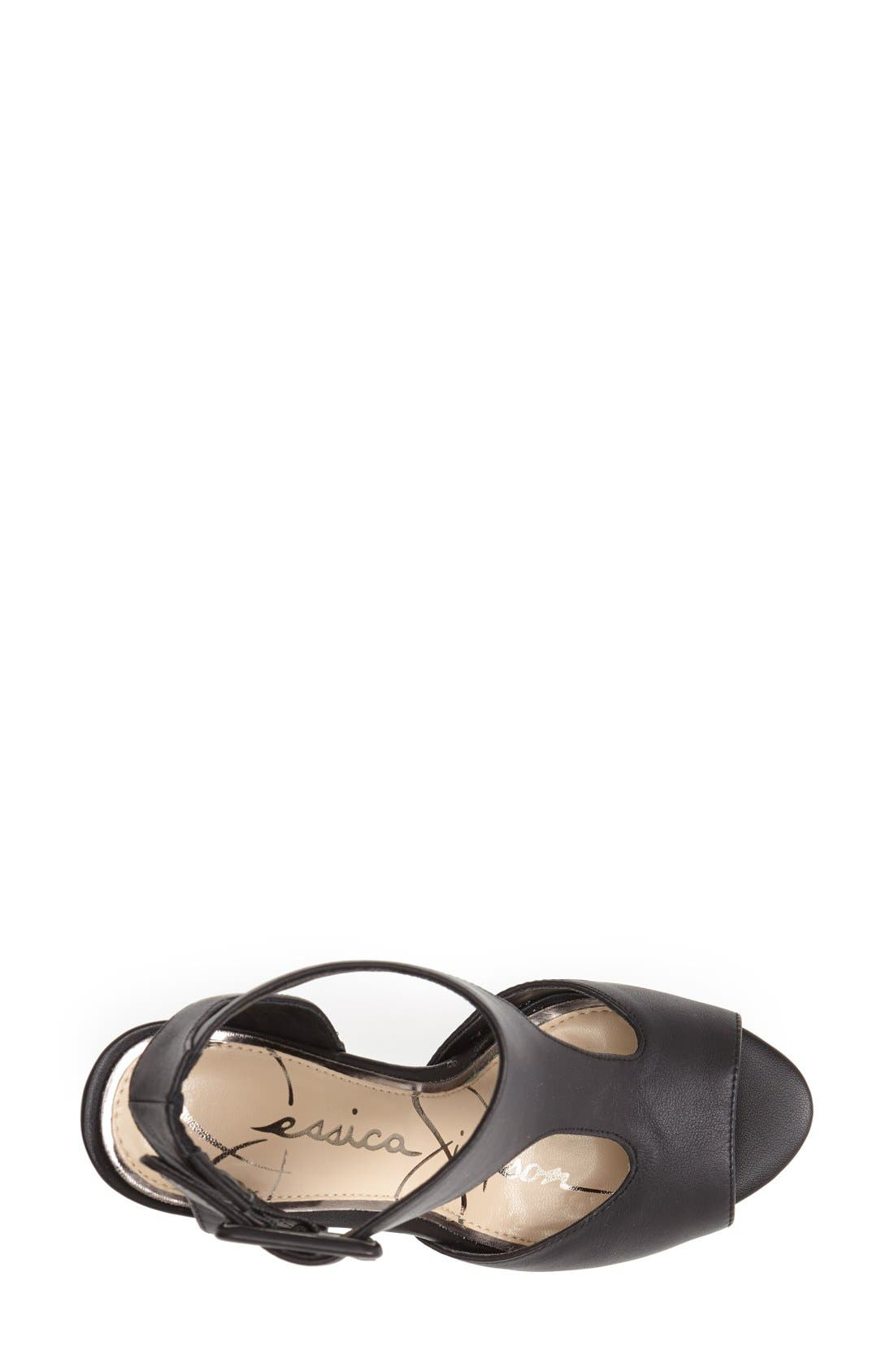 Alternate Image 2  - Jessica Simpson 'Dewy' Cutout Sandal (Women)