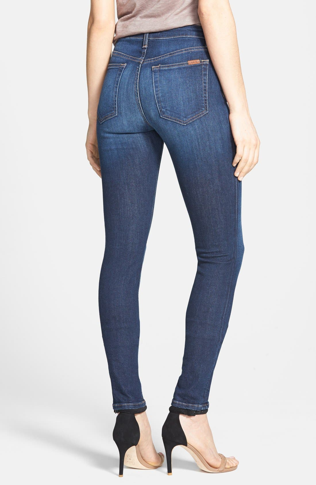 Alternate Image 2  - Joe's 'Flawless' High Rise Skinny Jeans (Acadia)