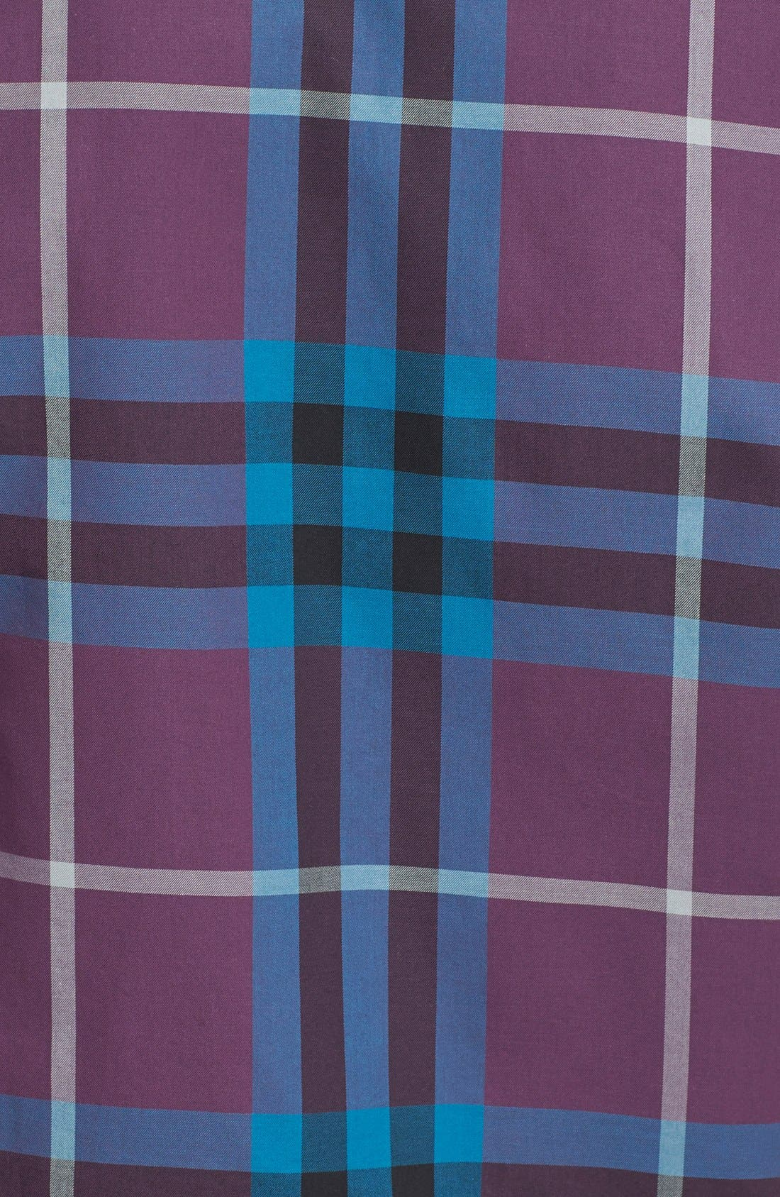 Alternate Image 3  - Burberry Brit Trim Fit Check Sport Shirt