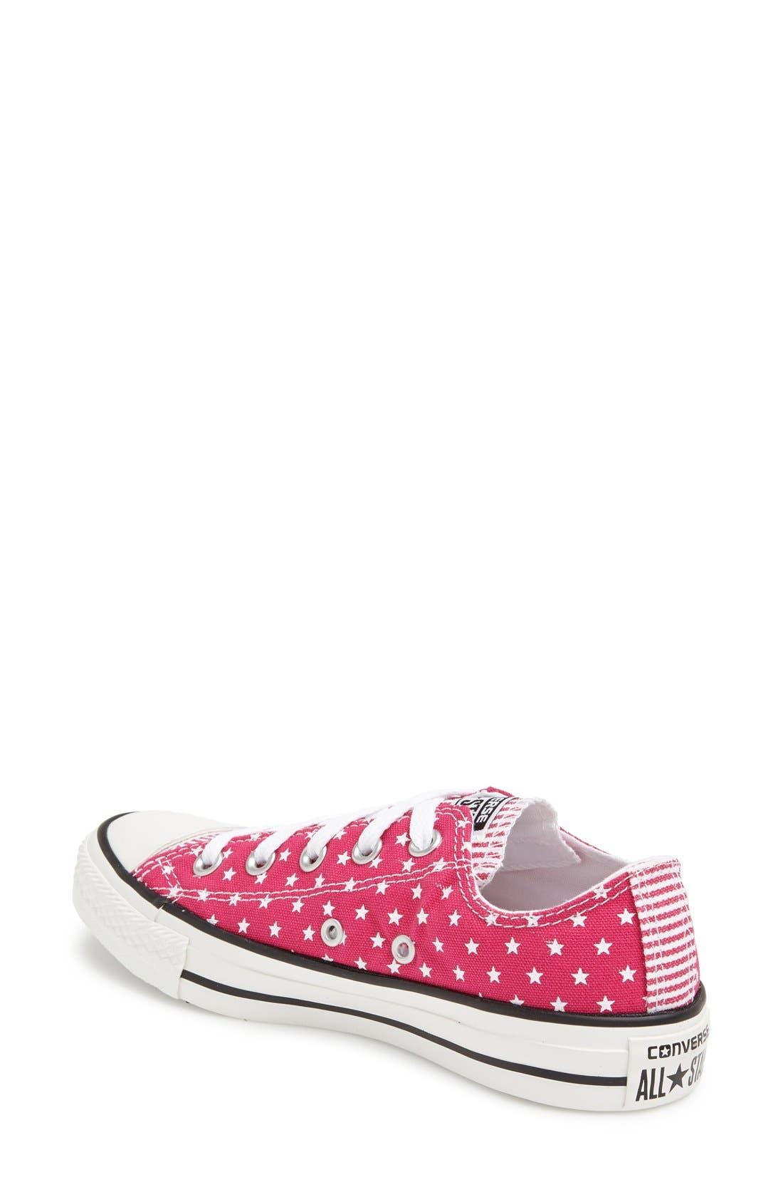 Alternate Image 2  - Converse Chuck Taylor® All Star® 'Mini Stars & Bars' Low Sneaker (Women)
