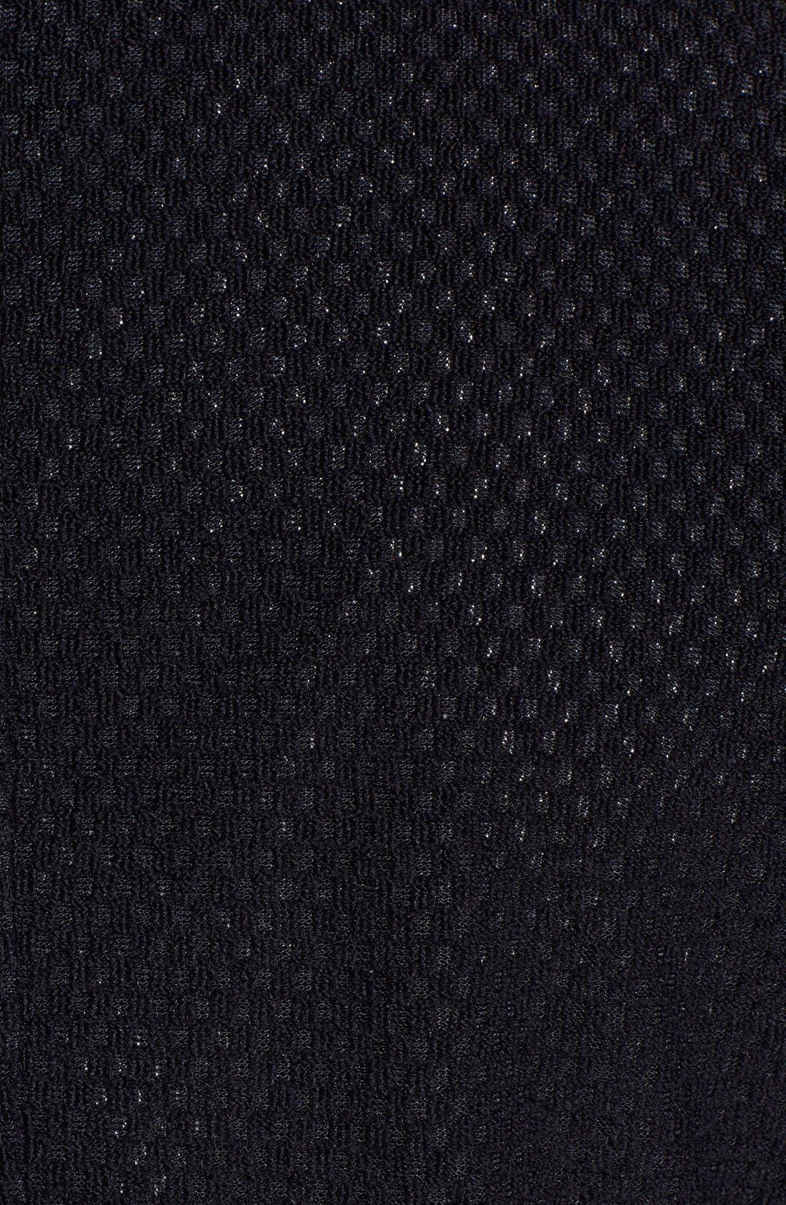 Alternate Image 3  - Armani Collezioni Navy Techno Jersey Sport Coat
