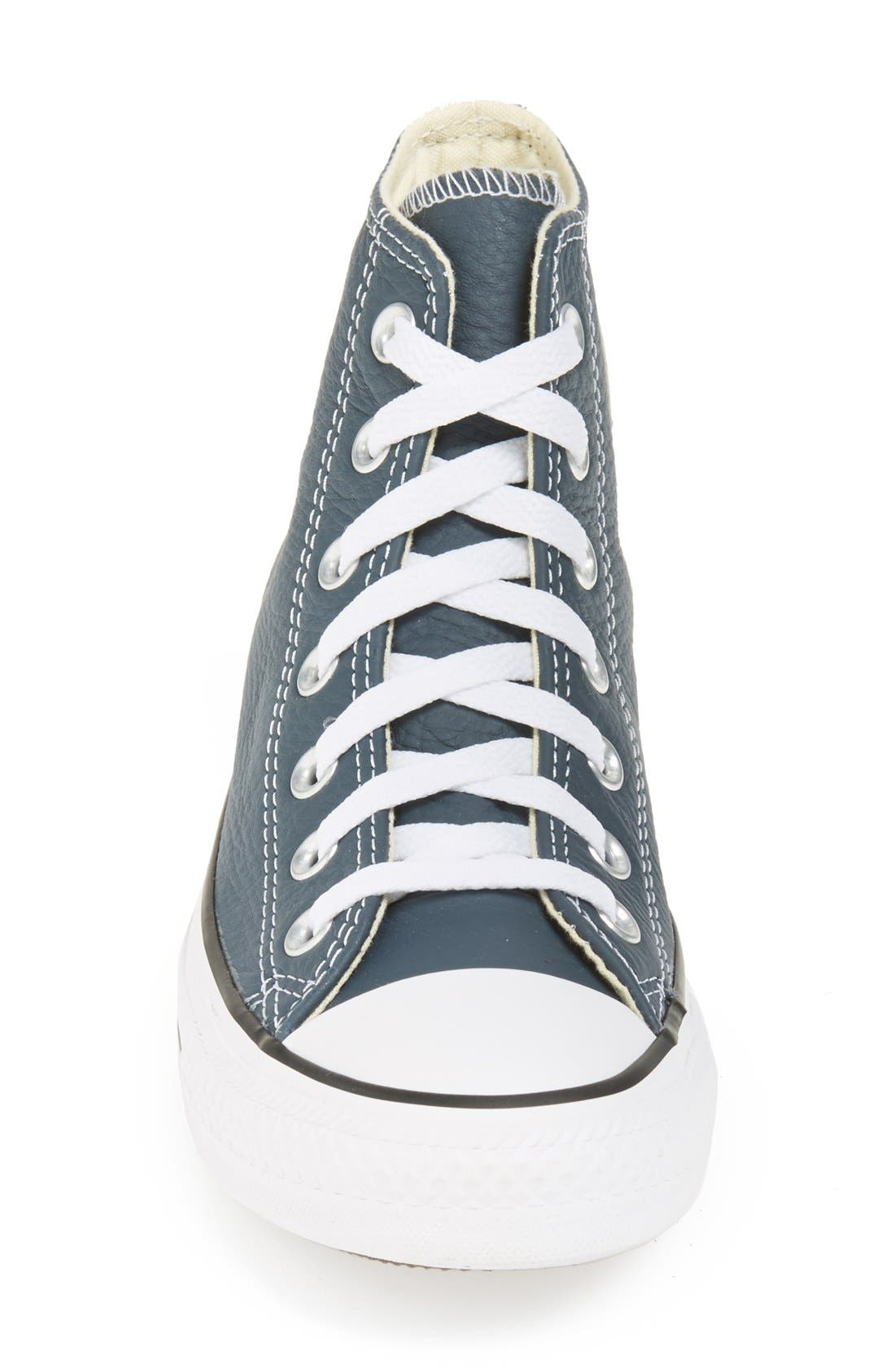 Alternate Image 3  - Converse Chuck Taylor® All Star® High Top Leather Sneaker (Women)