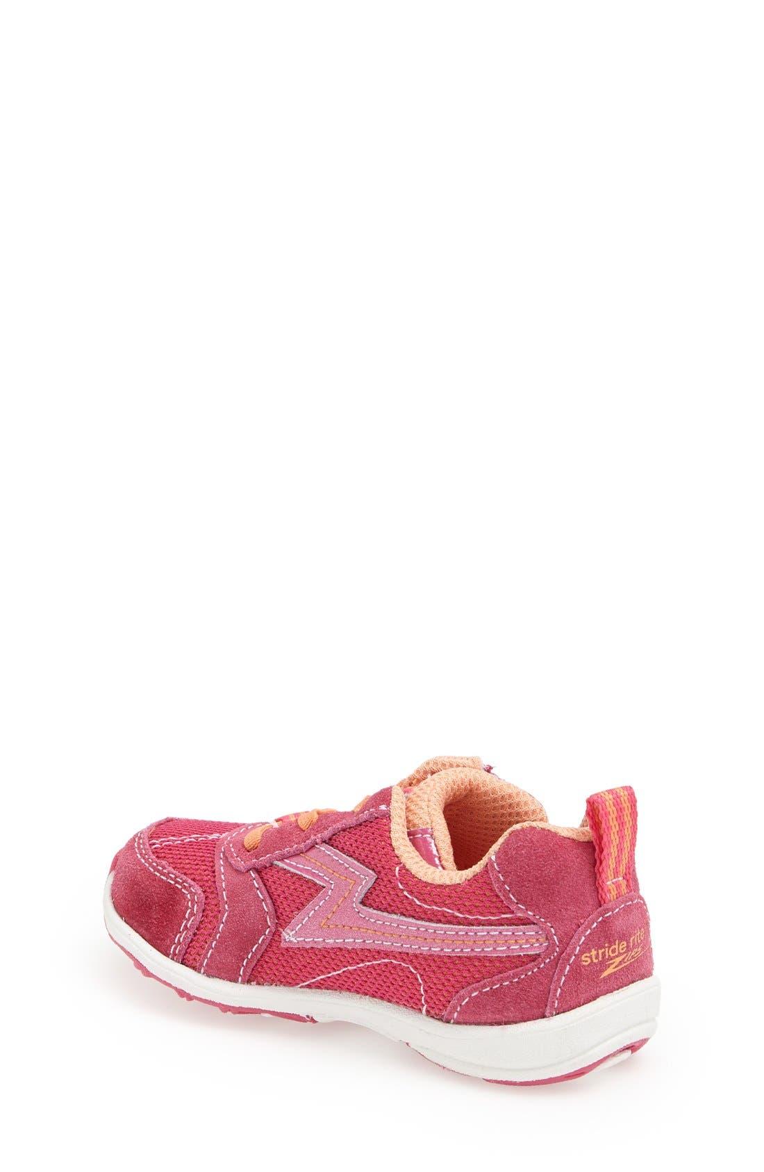 Alternate Image 2  - Stride Rite 'Zips' Sneaker (Walker & Toddler)