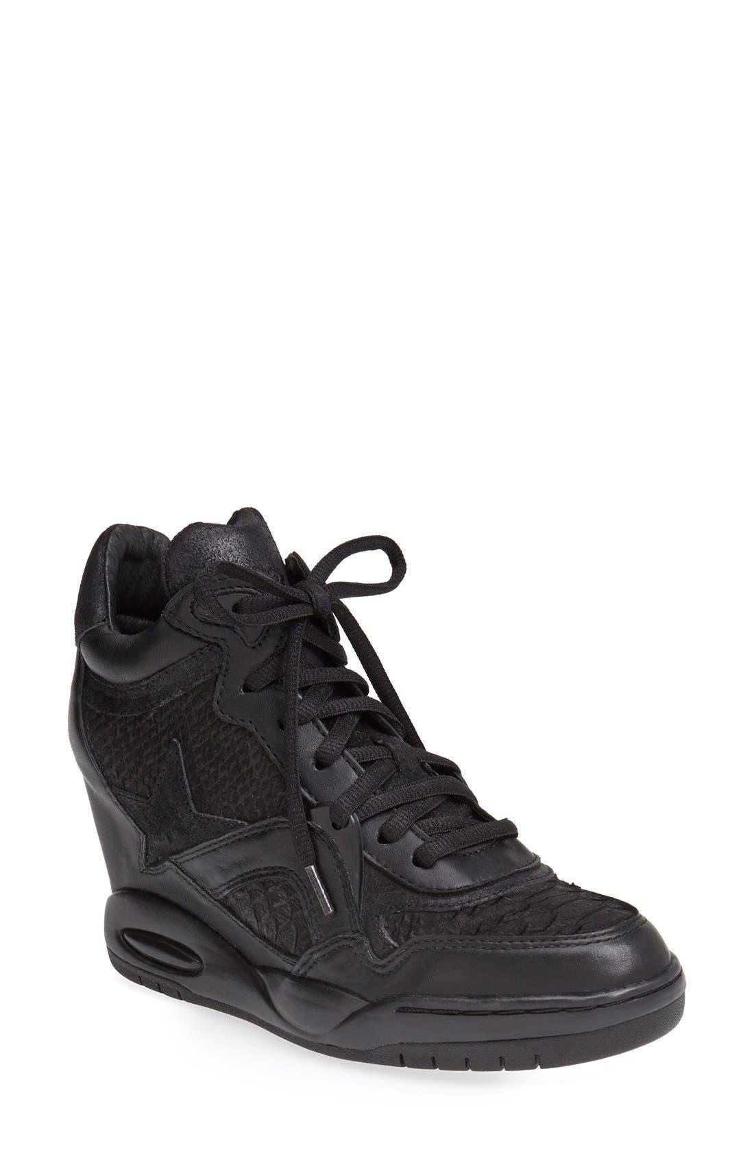 Alternate Image 1 Selected - Ash 'Bling' Hidden Wedge Sneaker (Women)