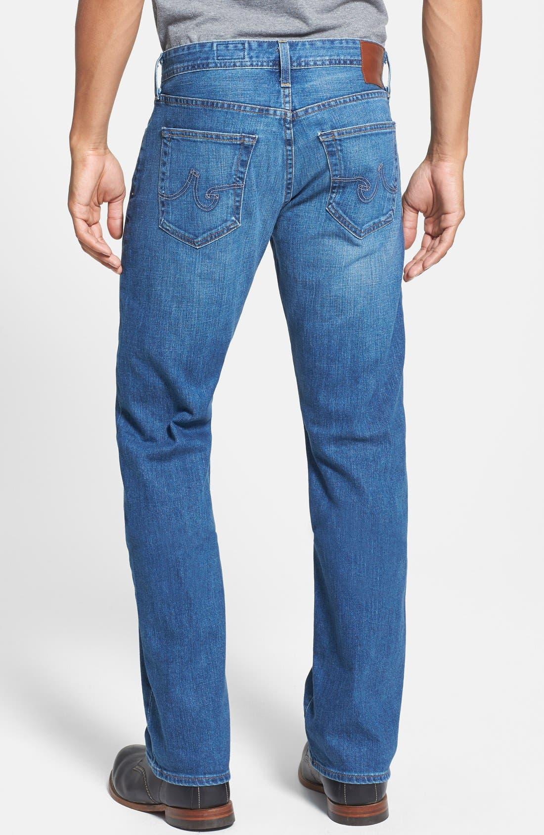 Alternate Image 2  - AG Jeans 'Protégé' Straight Leg Jeans (Eleven Year Wildcraft)