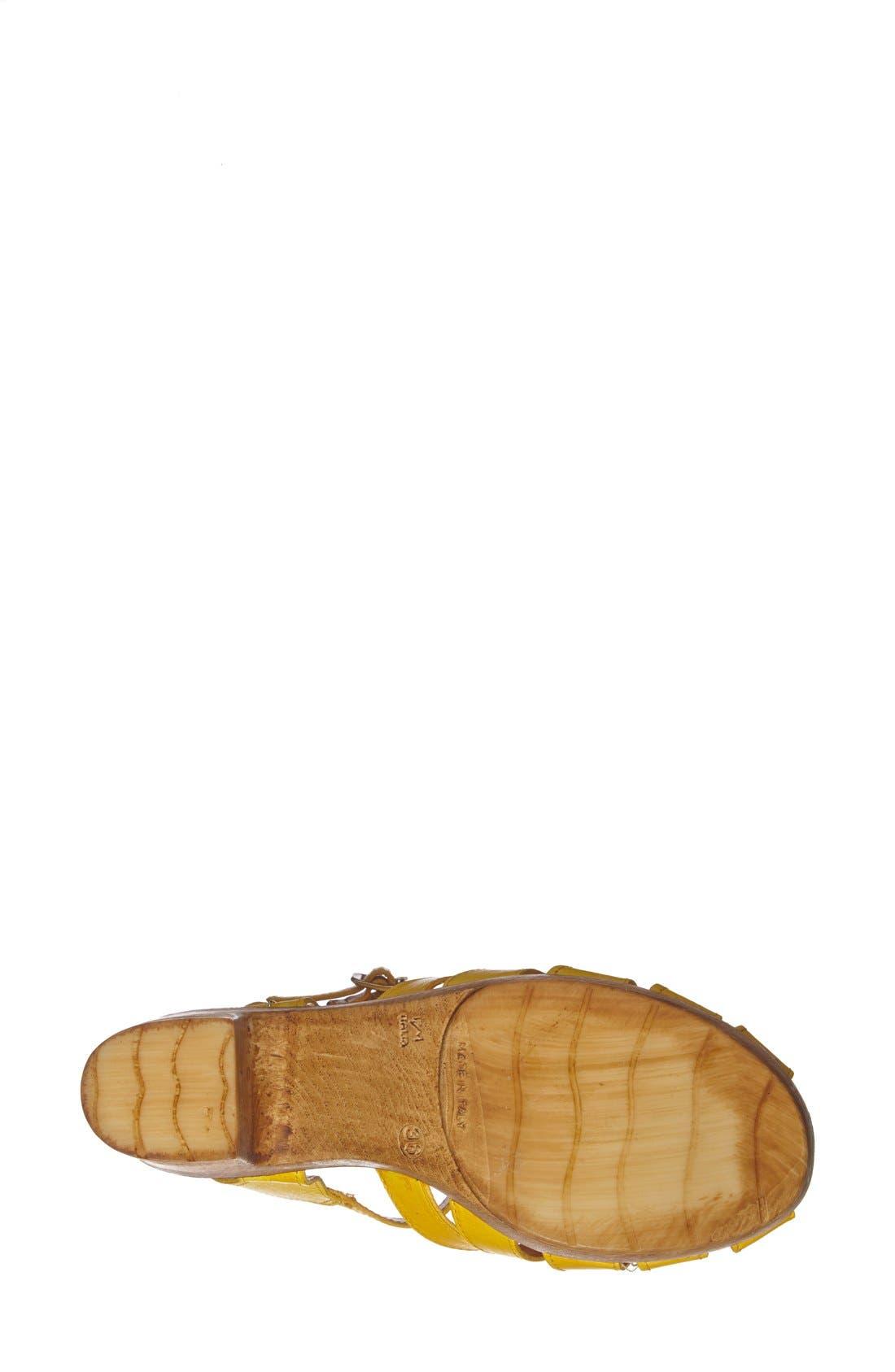 Alternate Image 4  - Topshop 'Notch' Strappy Sandal (Women)