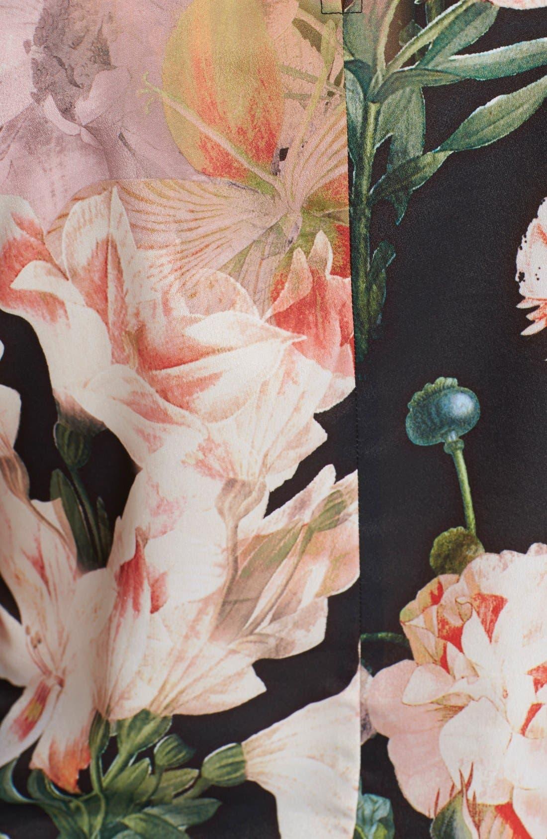 Alternate Image 3  - Ted Baker London 'Opulent Bloom' Print Top