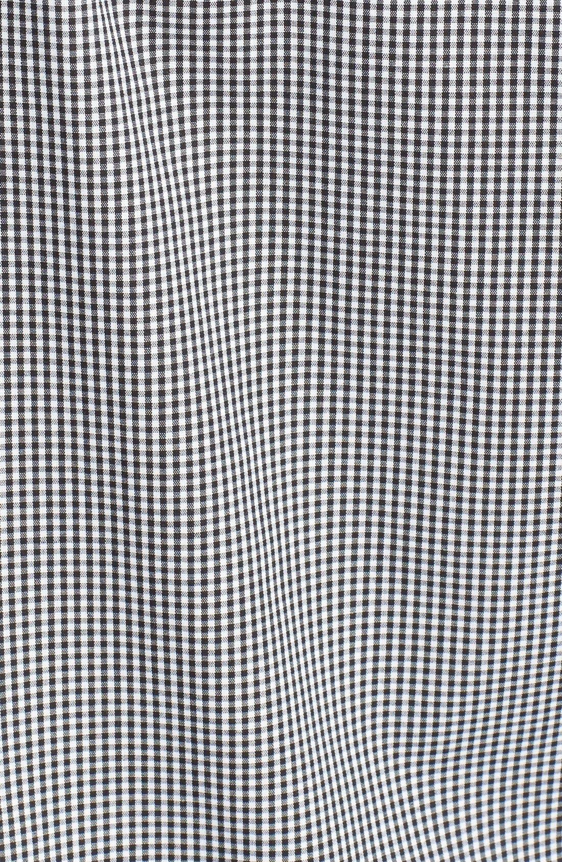 Alternate Image 3  - Topman Slim Fit Mixed Gingham Dress Shirt