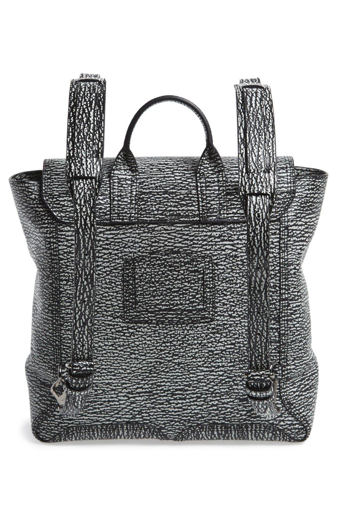 Alternate Image 3  - 3.1 Phillip Lim 'Pashli' Shark Embossed Leather Backpack