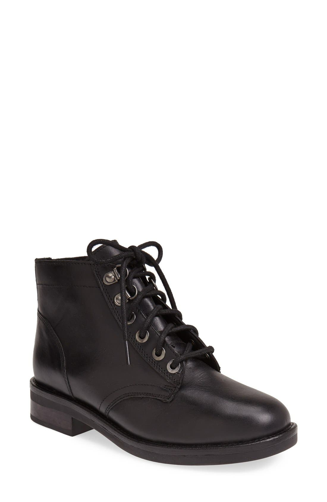 Main Image - Topshop 'Alpha' Ankle Boot (Women)