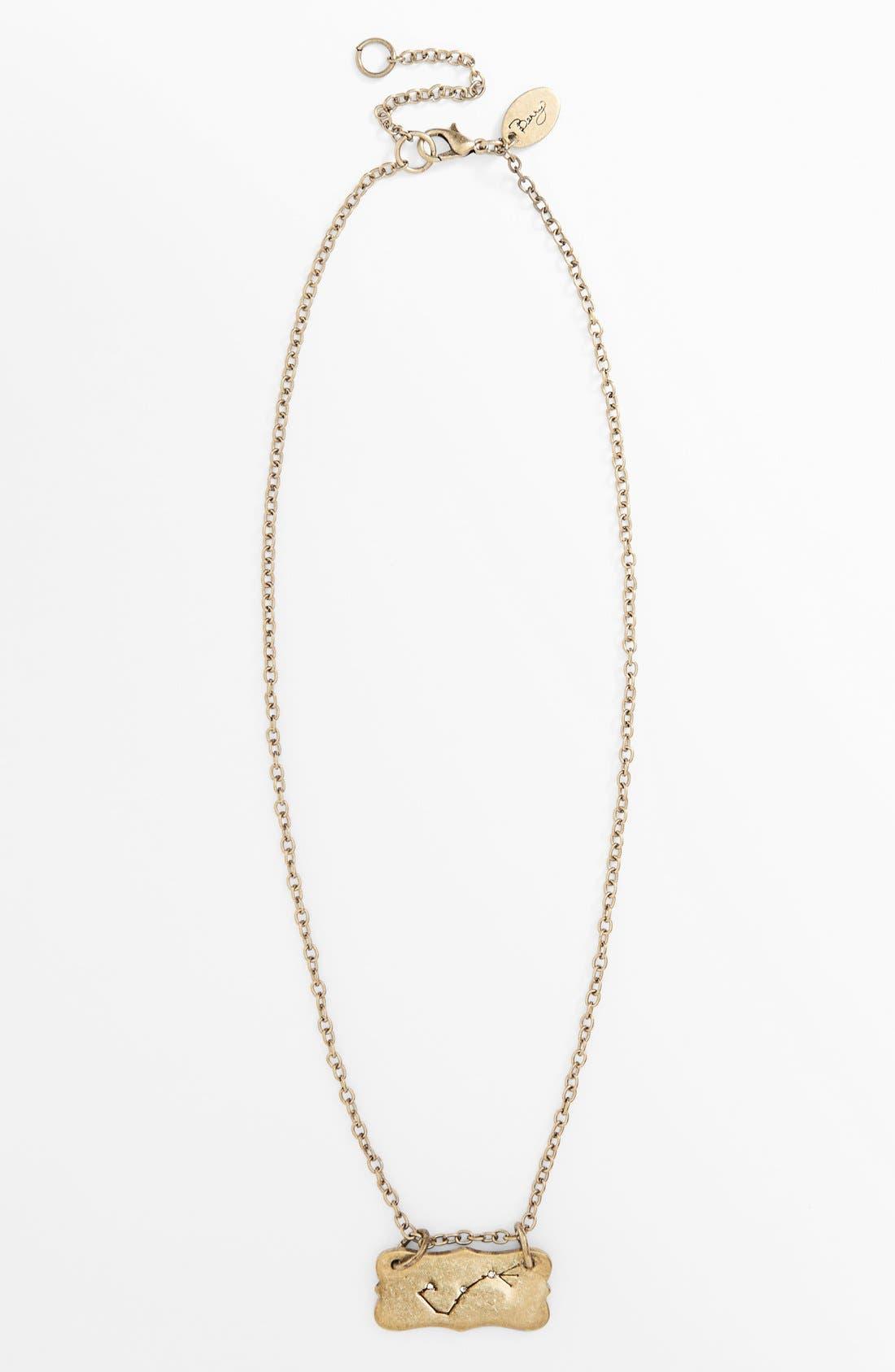 Alternate Image 5  - Berry 'Zodiac - Scorpio' Reversible Pendant Necklace (Goldtone)
