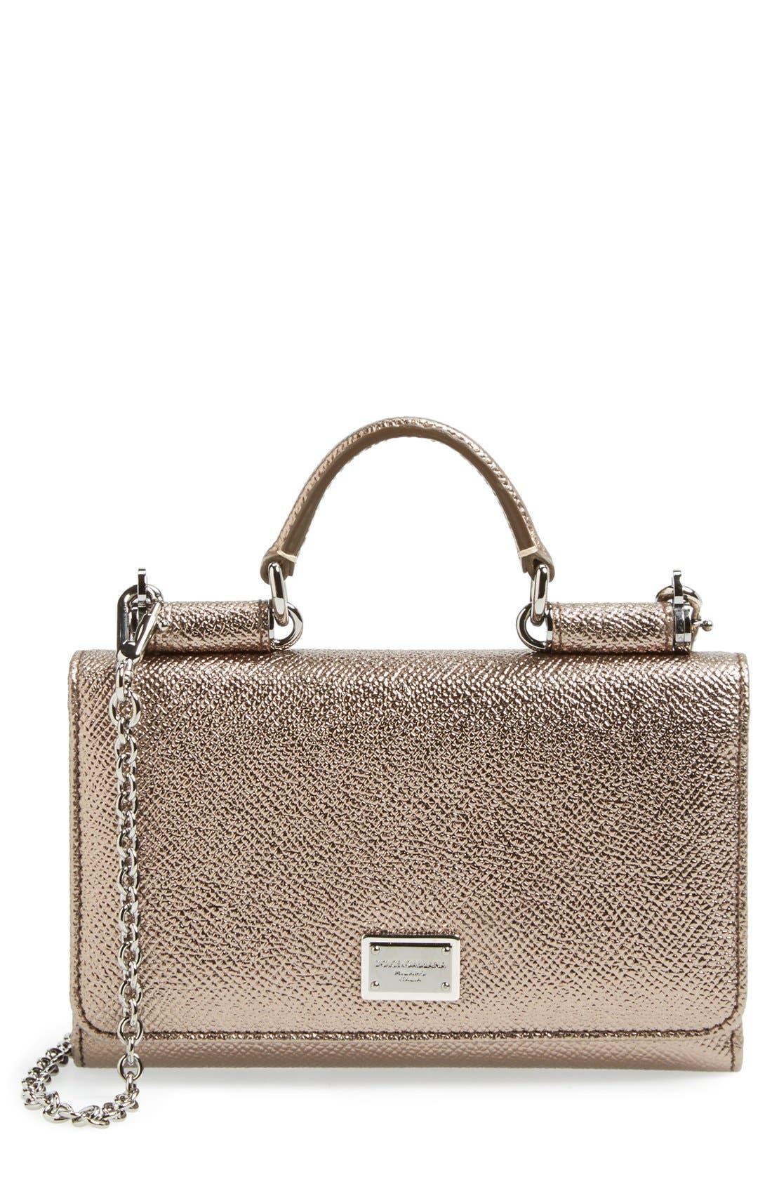 Main Image - Dolce&Gabbana Wallet on a Chain