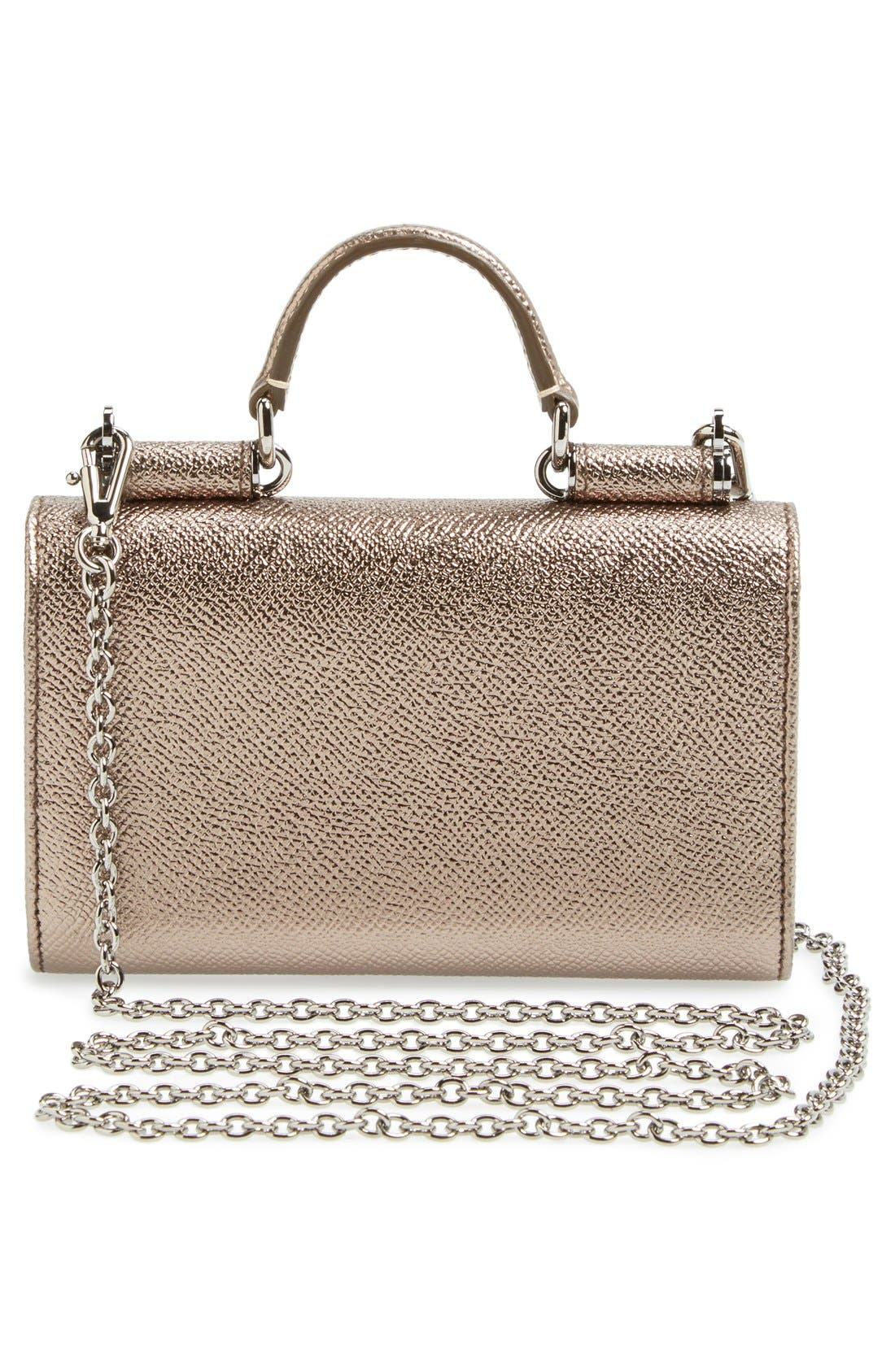 Alternate Image 4  - Dolce&Gabbana Wallet on a Chain
