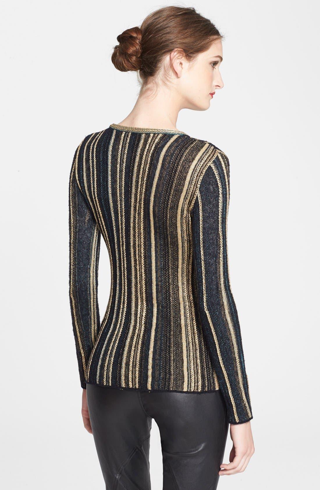 Alternate Image 2  - M Missoni Vertical Stripe Knit Top