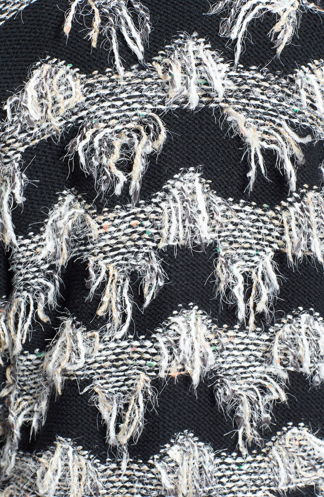 Alternate Image 3  - ASTR Fringe Cardigan