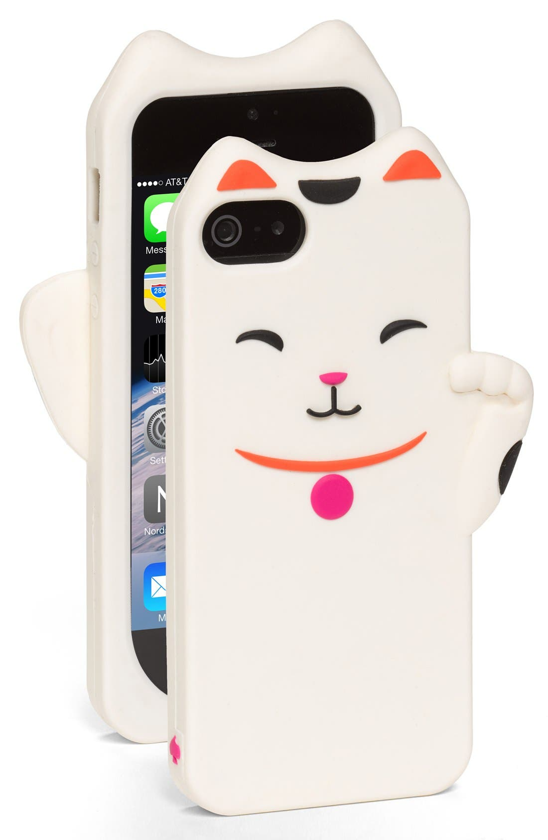 Main Image - kate spade new york cat iPhone 5 & 5s case