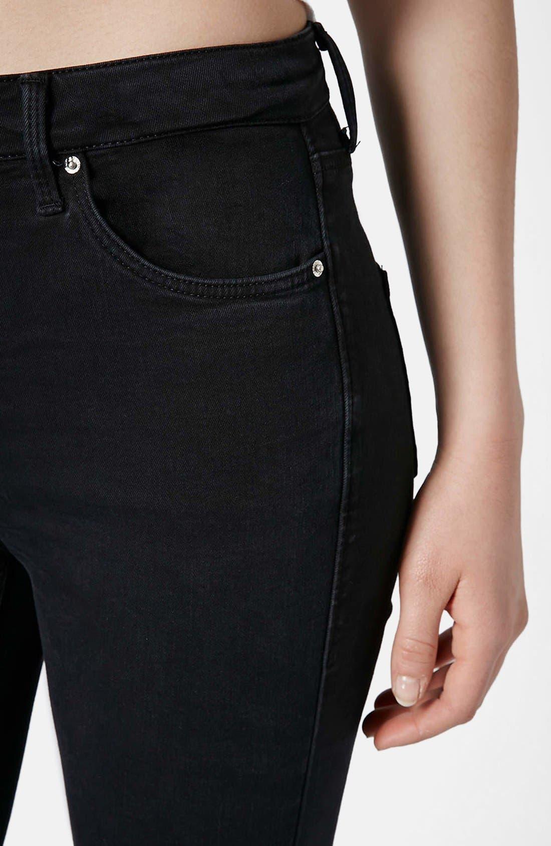 Alternate Image 4  - Topshop 'Jamie' Zip Ankle Jeans