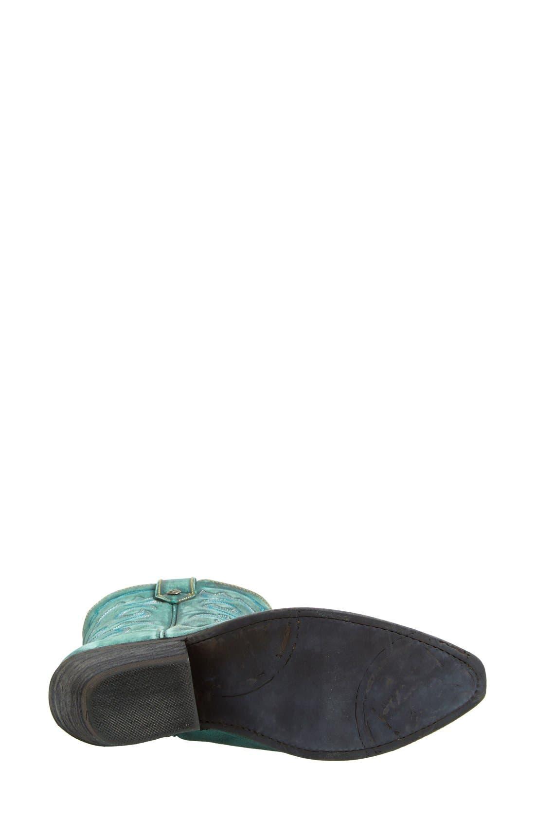 Alternate Image 4  - Liberty Black Western Leather Boot (Women)