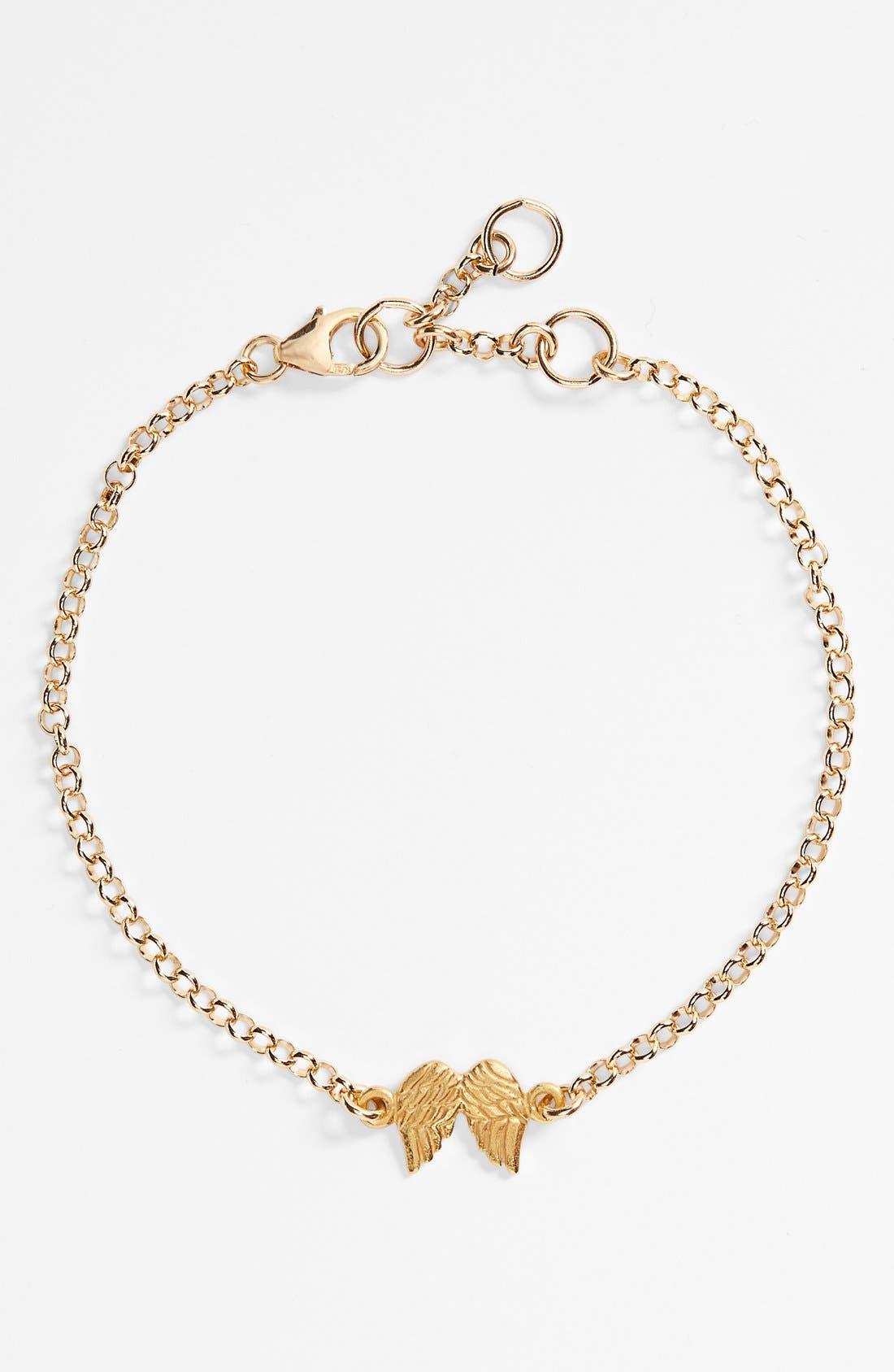 Alternate Image 2  - Dogeared 'Reminder - Guardian Angel' Boxed Charm Bracelet