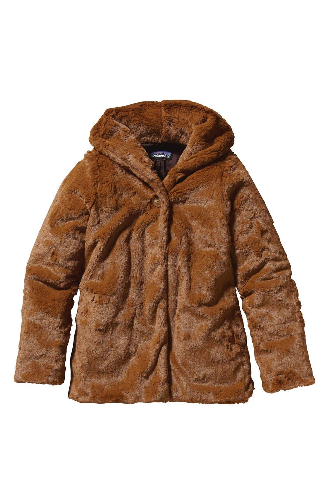 Alternate Image 1 Selected - Patagonia 'Pelage' Jacket (Little Girls & Big Girls)