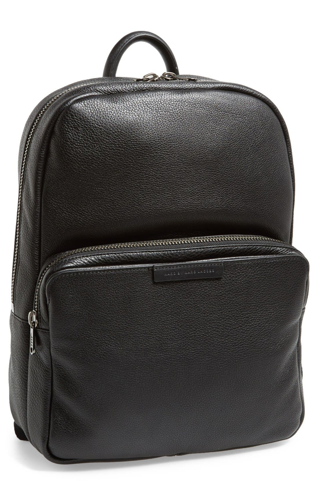 Alternate Image 1 Selected - MARC BY MARC JACOBS 'Classic' Leather Backpack