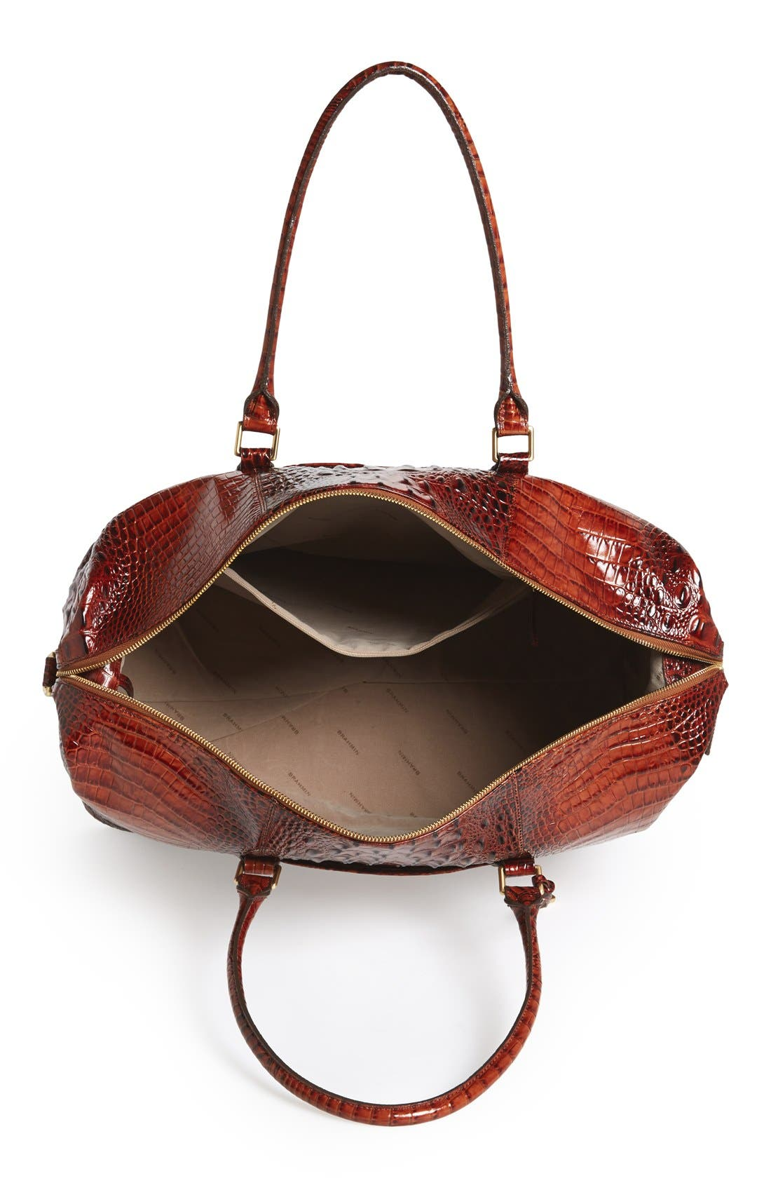 Alternate Image 4  - Brahmin 'Duxbury' Leather Travel Bag