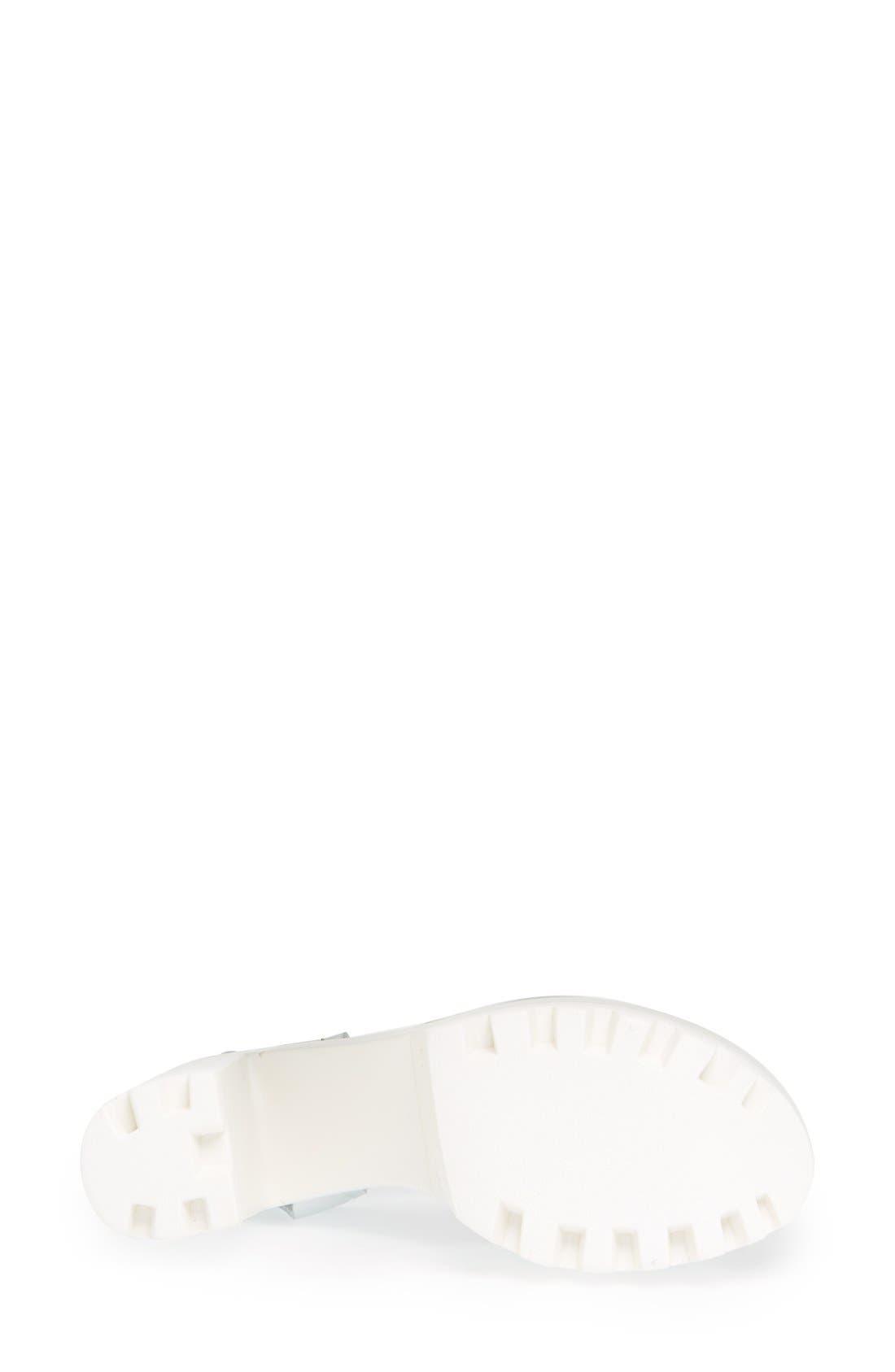 Alternate Image 4  - Topshop 'Lena' Chunky Sole Platform Sandal (Women)