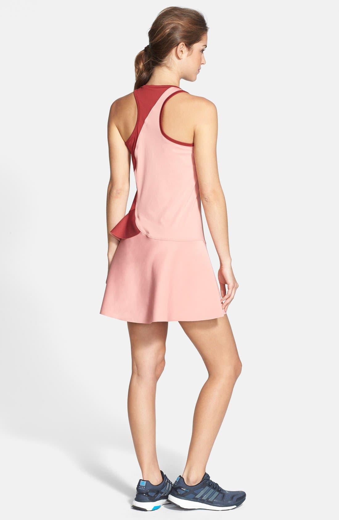 Alternate Image 2  - adidas by Stella McCartney 'Barricade' Ruffled Dress