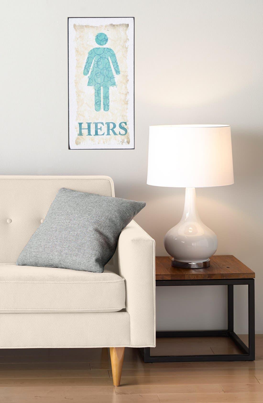 Alternate Image 2  - VIP International 'Hers' Bathroom Sign