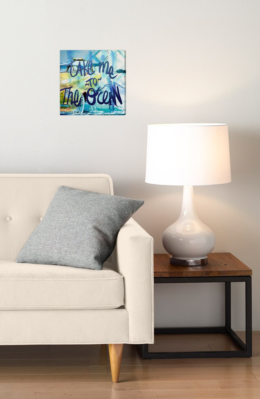 Alternate Image 2  - Oliver Gal 'Take Me to the Ocean' Wall Art