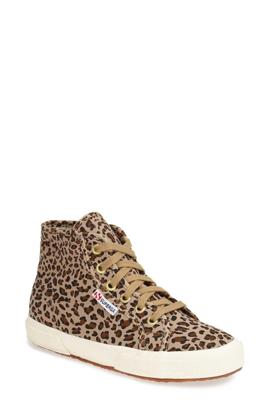 Alternate Image 1 Selected - Superga 'Leo' High Top Sneaker (Women)
