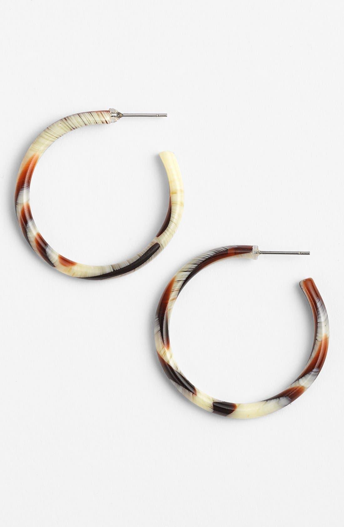 L. Erickson Hoop Earrings