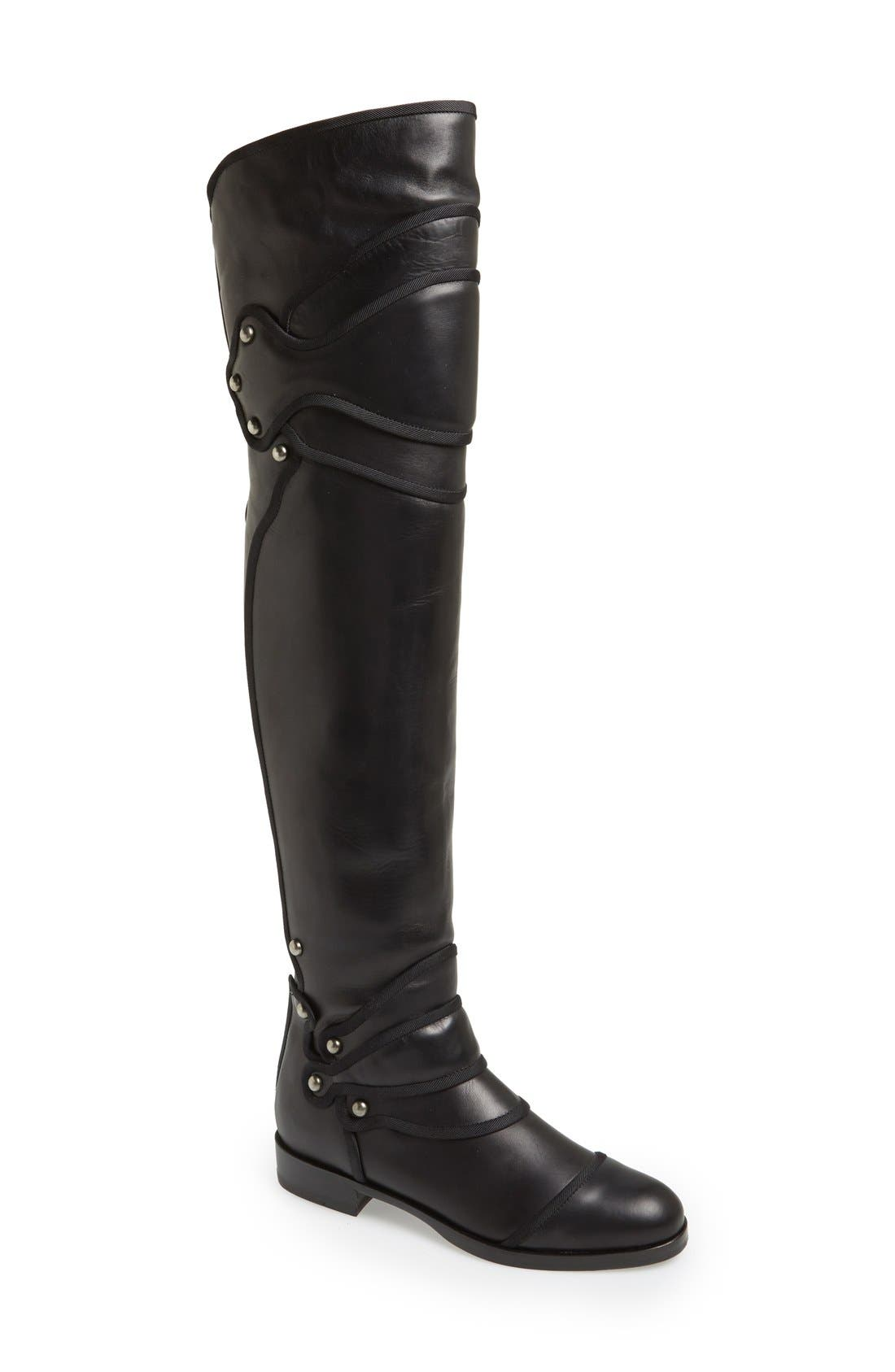 Main Image - Dolce&Gabbana Over the Knee Boot (Women)