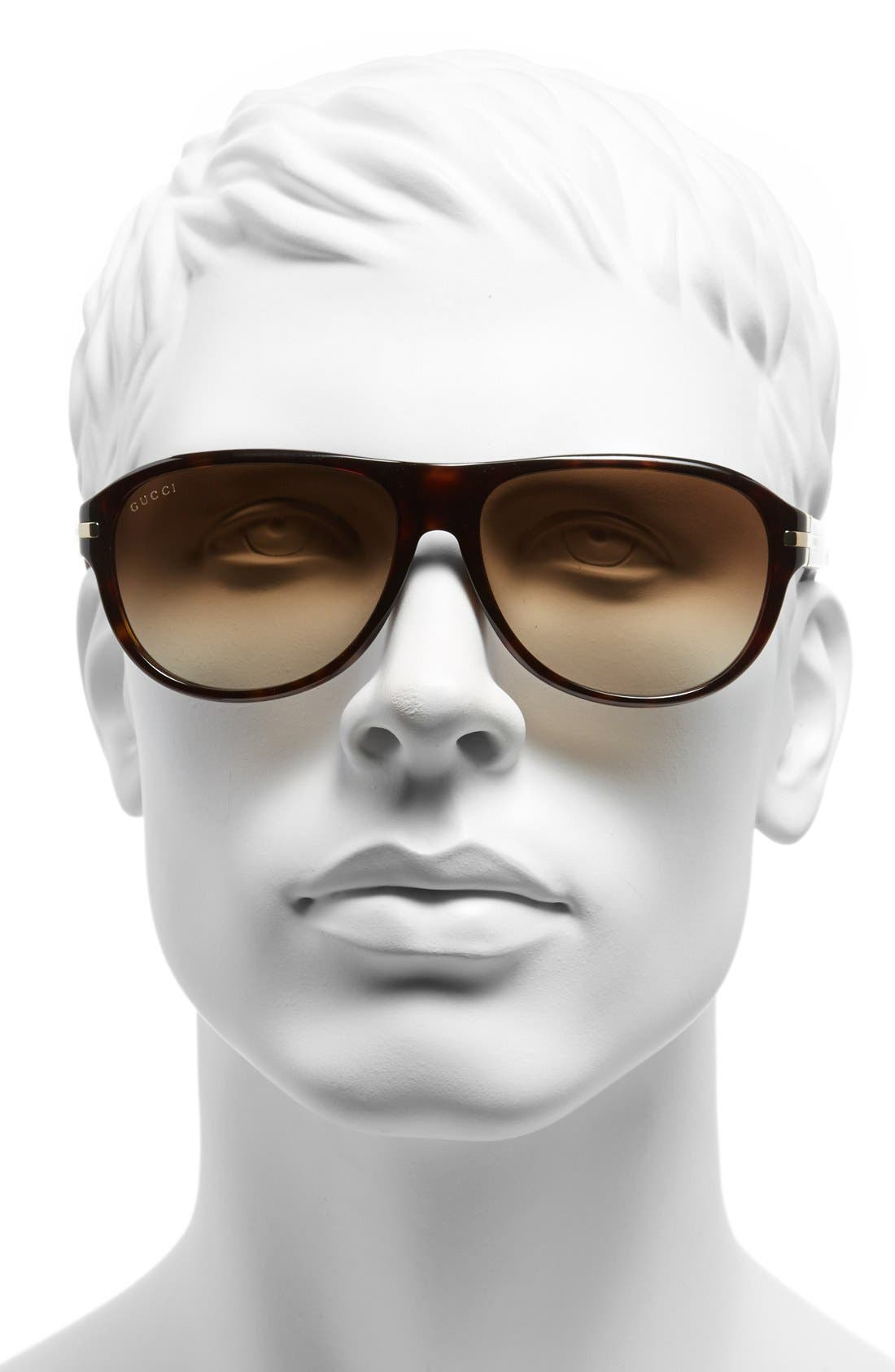 Alternate Image 2  - Gucci 58mm Sunglasses