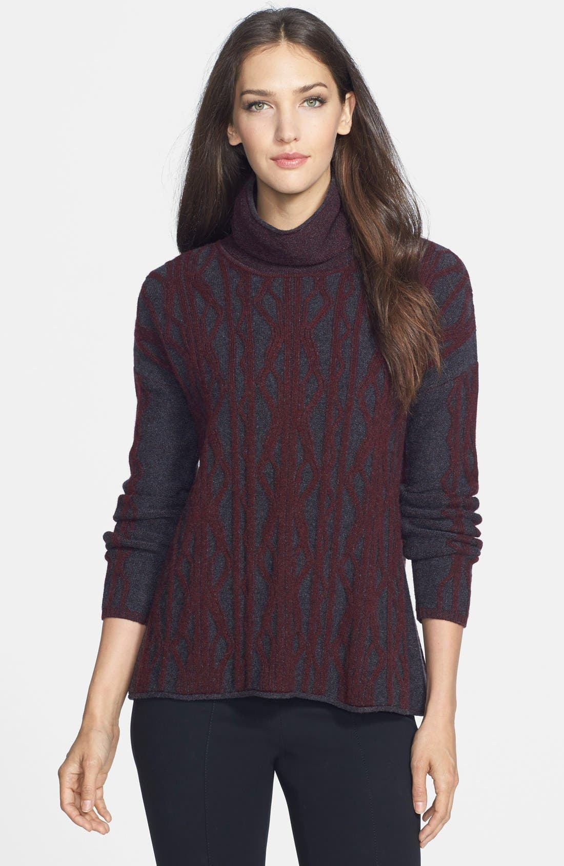Alternate Image 1 Selected - Quinn 'Kylie' Cashmere Cable Turtleneck