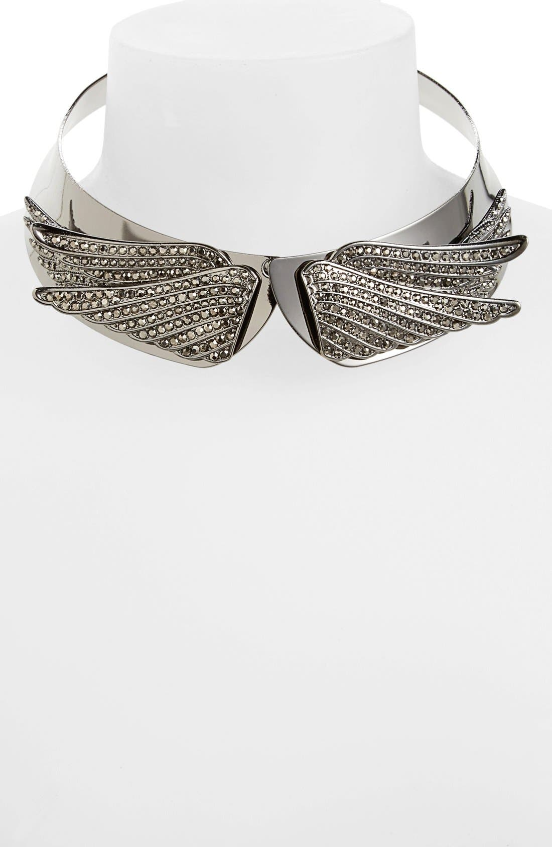 Alternate Image 1 Selected - Leith 'Wings' Collar Necklace