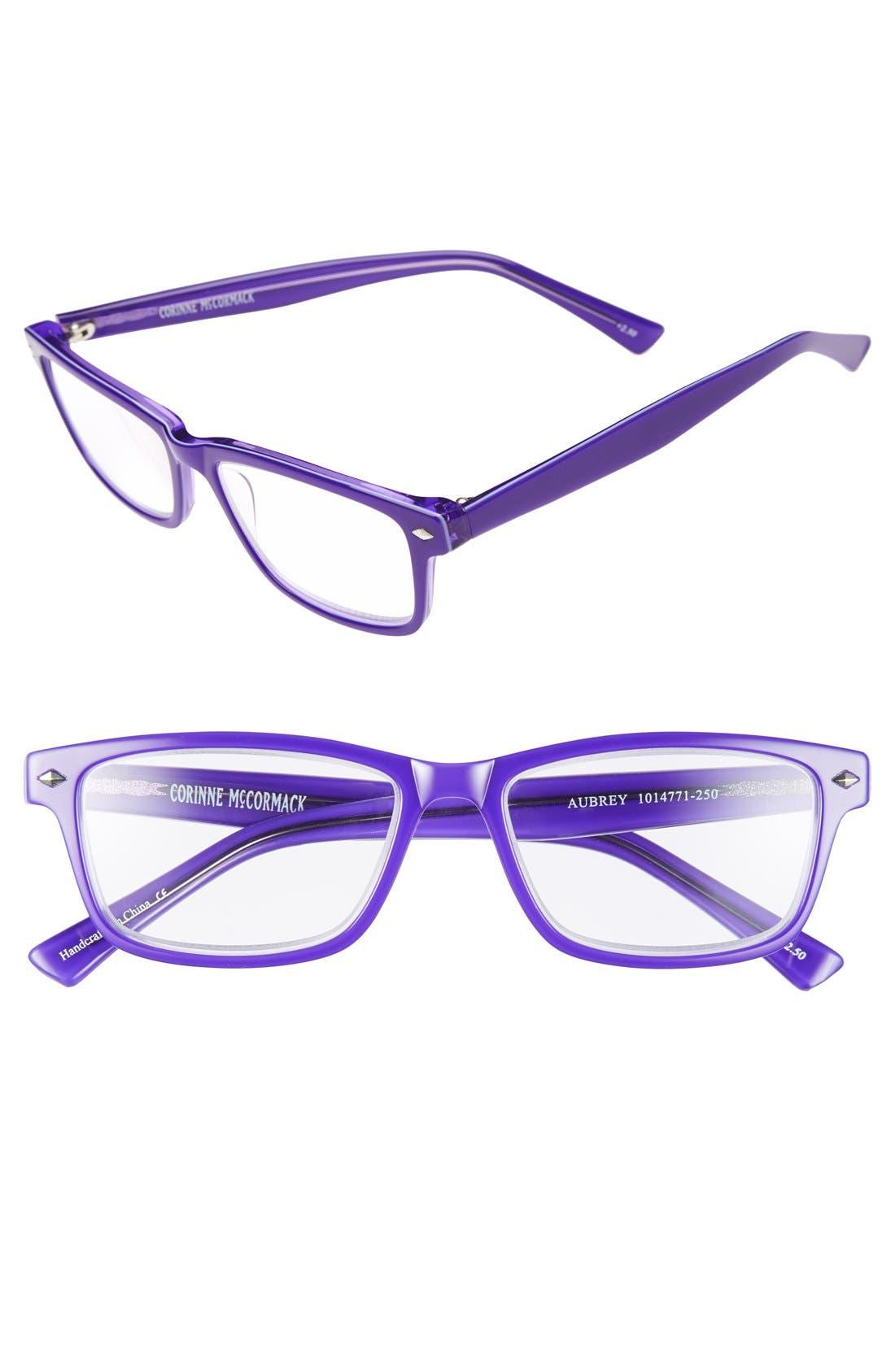 Alternate Image 1 Selected - Corinne McCormack 'Aubrey' 52mm Reading Glasses
