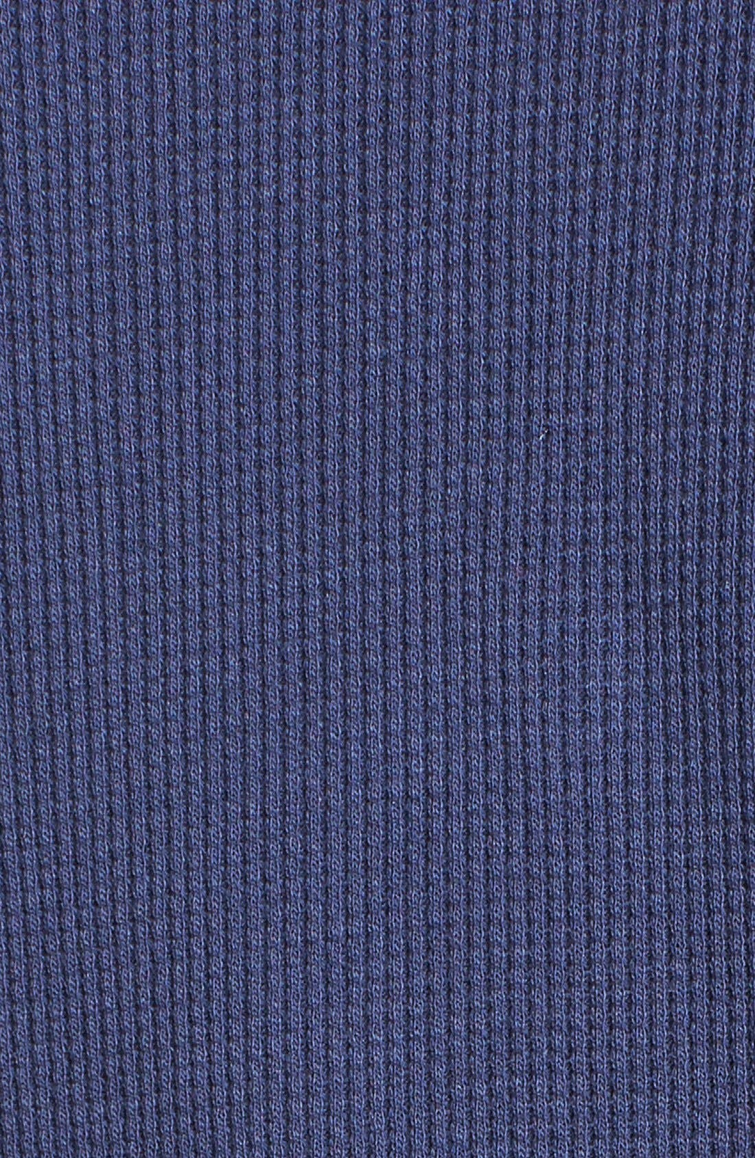 Alternate Image 3  - Kings of Cole Faux Suede Detail Thermal Shirt